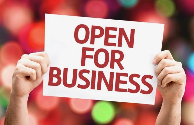 Open Today!